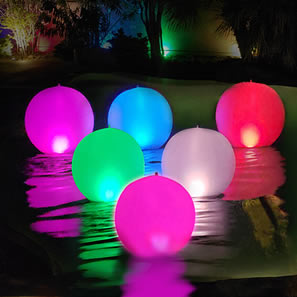Inflatable Ball Solar Light CT214
